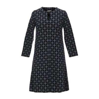 SIYU ミニワンピース&ドレス ブルーグレー 38 ウール 100% ミニワンピース&ドレス