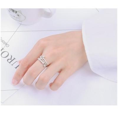指輪 シルバー レディース 可愛い メンズ  上品 金属アレルギー対応 リング おしゃれ シルバーリング 母の日