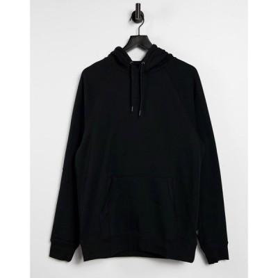 ヴァンズ Vans メンズ パーカー トップス Versa Small Logo hoodie in black ブラック