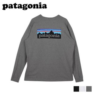 パタゴニア patagonia Tシャツ 長袖 ロンT カットソー レスポンシビリティー メンズ P-6 LOGO RESPONSIBILI TEE 38518