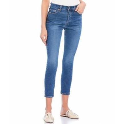 リーバイス レディース デニムパンツ ボトムス Wedgie Destructed High Rise Skinny Jeans Sun Devil