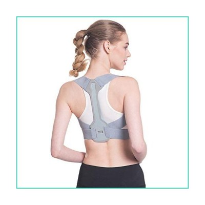 <新品>Teerwere Posture Corrector Posture Corrector for Women & Men-Best Fully Adjustable Back Brace-Comfortable Posture Support for Ba