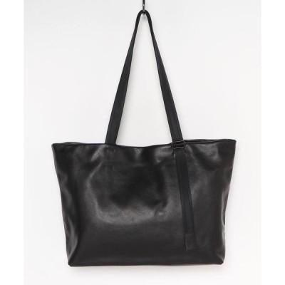 トートバッグ バッグ PATRICK STEPHAN/パトリックステファン/Leather tote wide 'adjustable shoulde