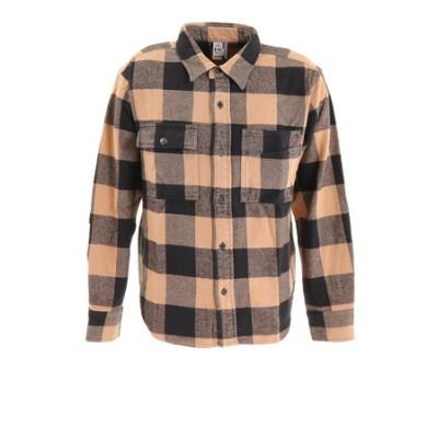 チャムス(CHUMS)ヘビーネルシャツ ガーメントダイ CH02-1147-B001