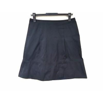 ジユウク 自由区/jiyuku スカート サイズ40 M レディース 美品 黒×ネイビー【中古】20191107