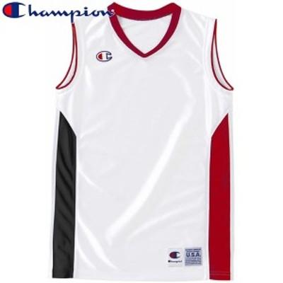 Champion(チャンピオン) JUNIOR GAME SHIRTS バスケット ゲームシャツ CBYR2032-WR