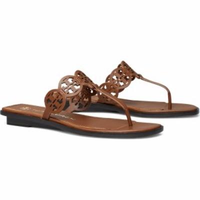 トリー バーチ TORY BURCH レディース サンダル・ミュール ビーチサンダル シューズ・靴 Tiny Miller Thong Sandal Burnt Cuoio