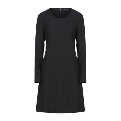 ANTONELLI ミニワンピース&ドレス ブラック 46 ポリエステル 94% / ポリウレタン 6% ミニワンピース&ドレス