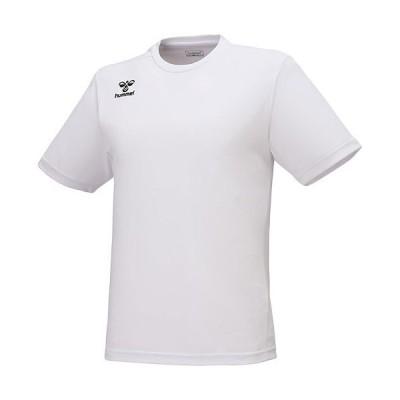 ヒュンメル(hummel) サッカー ウェア ジュニアつめたプラクティスシャツ ホワイト HJP1153 10 半袖 トレーニング 練習 トップス キッズ