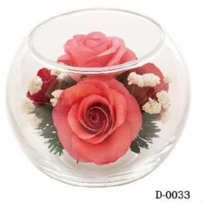 【送料無料】【ラッピング無料】ボトルフラワー グラスフラワー hanagonomi 自然の花を丁寧に加工しています D0033