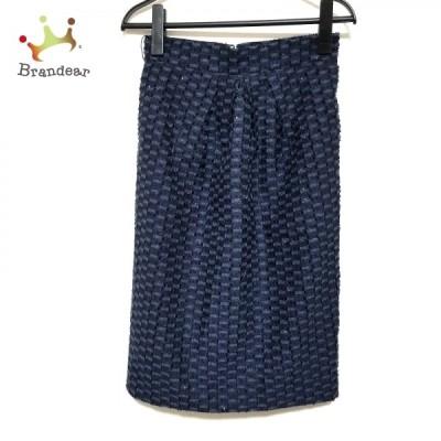 グレースコンチネンタル GRACE CONTINENTAL ロングスカート サイズ36 S レディース 美品 - ラメ  値下げ 20210429