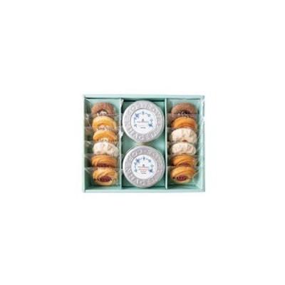 【内祝い お菓子】4種の焼き菓子&ロイヤル コペンハーゲン ティーバッグセット14個 YRC-30<【出産 お返し 出産内祝い 出産祝い ギ