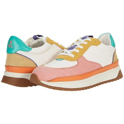 Madewell Kickoff Trainer Sneaker in Spring Color-Block レディース スニーカー Antique Coral Multi