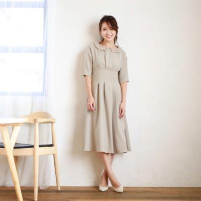 【DIRECTED BY MISAKI YAMASHITA】ディタッチャブルカラーワンピース