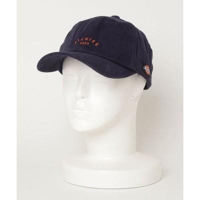 帽子 キャップ 【Dickies/ディッキーズ】 コーデュロイロゴ刺繍BBキャップ/6パネル/帽子