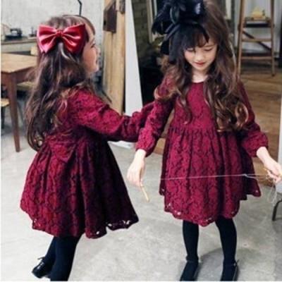 子供ドレス ワンピース 女の子 フォーマル 子供 キッズ ドレス ワンピース フォーマル 女の子 子供服 プリンセスドレス 長袖 キッズ ドレ