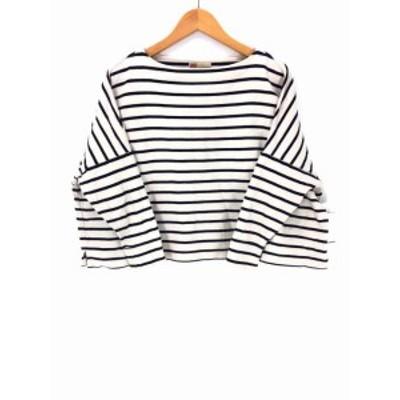 トラディショナルウェザーウェアシャツ Traditional Weatherwear SHIRT ボートネックTシャツ サイズimport:S レディース 【中古】【ブラ