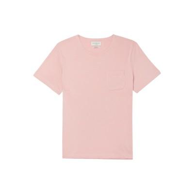 オリバー・スペンサー OLIVER SPENCER T シャツ ライトピンク XXL ピマコットン 100% T シャツ