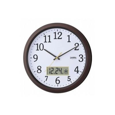 ギフト 内祝い お礼 カレンダー付連続秒針の掛時計 YW9142DBR お中元 出産内祝い 快気祝い 香典返し等