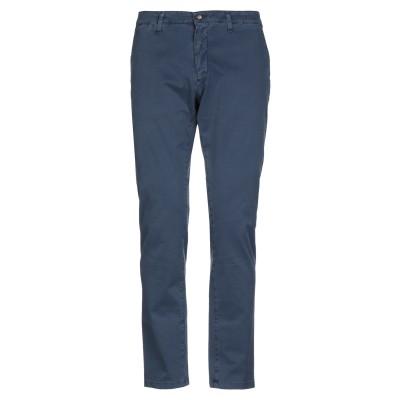 PAOLO FIORILLO パンツ ブルー 54 コットン 97% / ポリウレタン 3% パンツ