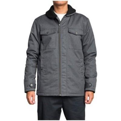ルーカ メンズ ジャケット・ブルゾン アウター RVCA Midweek Jacket Charcoal