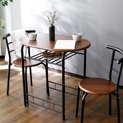 ダイニングテーブルセット 3点 2人用 チェア 食卓 おしゃれ カフェ スタイル ロウヤ LOWYA