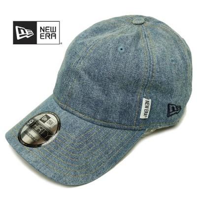 ニューエラ メンズ キャップ 9THIRTY デニム&ヒッコリー ピスネームCAP newera 930 CAP