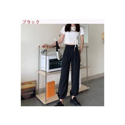 【送料無料】夏 韓国風 何でも似合う ハイウエスト 着やせ カジュア | 346770_A62788-0495494