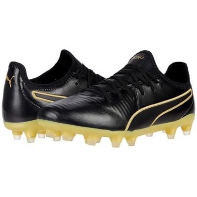 プーマ King Pro FG メンズ スニーカー 靴 シューズ Puma Black/Puma Team Gold