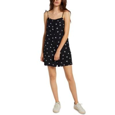 ボルコム レディース ワンピース トップス Juniors' Coco Tie-Strap Dress