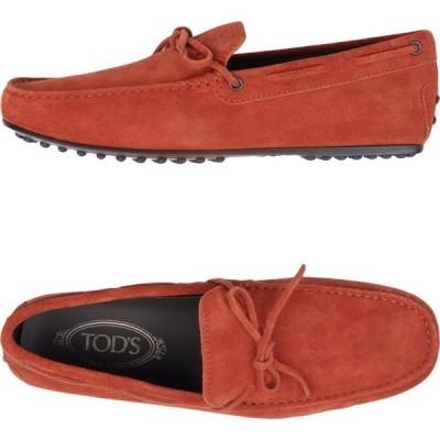 トッズ TOD'S メンズ ローファー シューズ・靴 loafers Rust