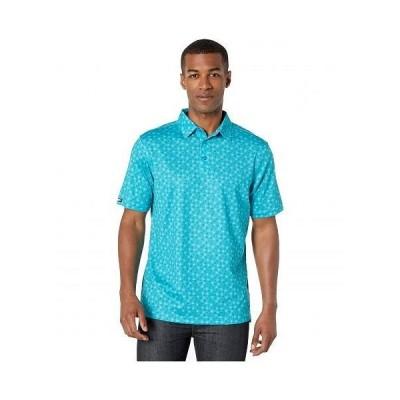 Straight Down メンズ 男性用 ファッション アクティブシャツ Newton Polo - Voodoo