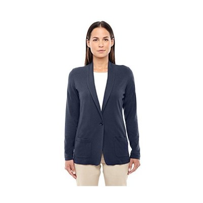 Devon & Jones Ladies Perfect Fitショール襟カーディガン US サイズ: 4L カラー: ブルー並行輸入品 送料無料