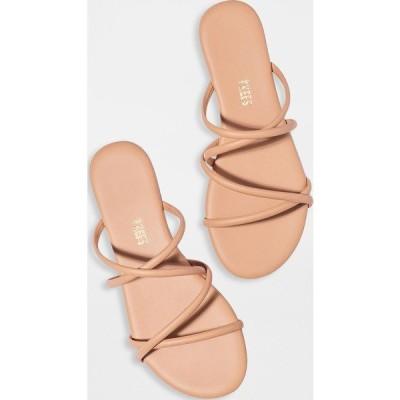 (取寄)ティキーズ レディース スローン スライド TKEES Women's Sloan Slides Nude