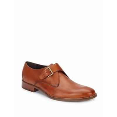 コールハーン メンズ シューズ モンクストラップ Williams Leather Monk-Strap Shoes