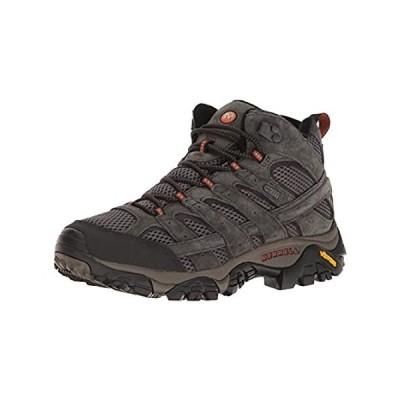 Merrell Men's Moab 2 Mid Waterproof Hiking Boot, Beluga, 9.5 M US