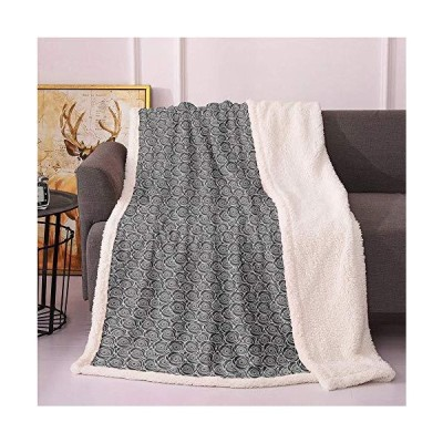 SeptSonne Floral Plush Blanket,Contemporary Romantic Pattern with Blooming Rose Petals in Monochrome Light Thermal Blanket,Print Digital Pri