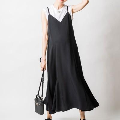 ヴィリーナ VIRINA エスタナーシングドレス (ブラック)