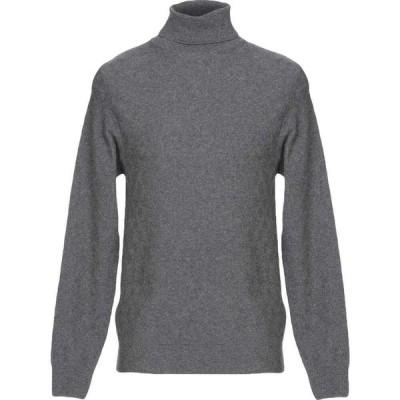 バランタイン BALLANTYNE メンズ ニット・セーター トップス Turtleneck Grey