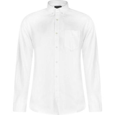 ハウィック Howick メンズ シャツ トップス Oxford Shirt White