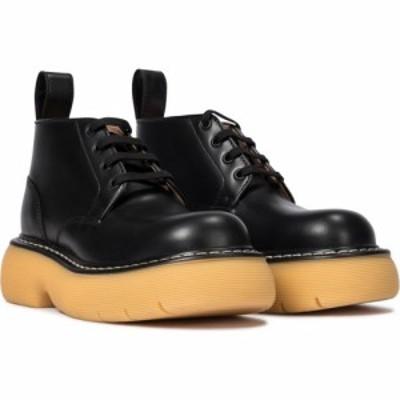ボッテガ ヴェネタ Bottega Veneta レディース ブーツ ショートブーツ シューズ・靴 the bounce leather ankle boots Black Nat. Rubber