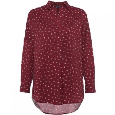 フレンチコネクション French Connection レディース ブラウス・シャツ オーバーシャツ トップス Adelise Light Pop Over Shirt red multi