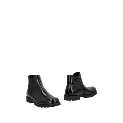ドルチェ & ガッバーナ DOLCE & GABBANA ショートブーツ ブラック 34 リアルファー ショートブーツ