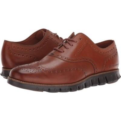 コールハーン Cole Haan メンズ 革靴・ビジネスシューズ ウイングチップ シューズ・靴 Zerogrand Wingtip Oxford Leather British Tan Leather/Java