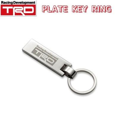 TRD プレートキーリング 08235-SP040 メール便(ネコポス)送料無料