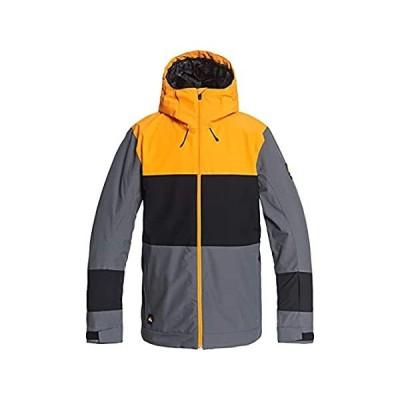 特別価格Quiksilver Sycamore Snowboard Jacket Mens Sz M Iron Gate好評販売中