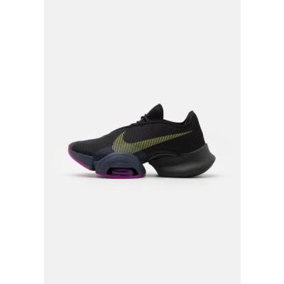 ナイキ レディース スポーツ用品 AIR ZOOM SUPERREP 2 - Sports shoes - black/cyber/red plum/sapphire