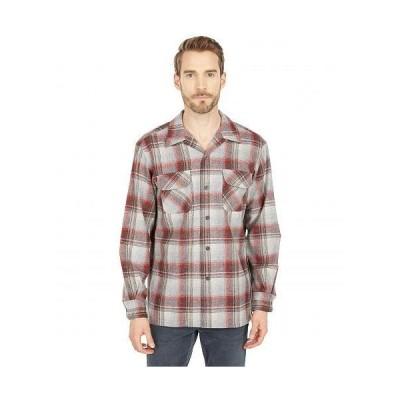 Pendleton ペンドルトン メンズ 男性用 ファッション ボタンシャツ Board Shirt Classic Fit - Red Plaid