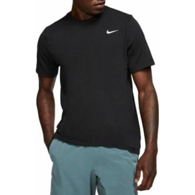 ナイキ メンズ Nike Men's Dri-FIT Training T-Shirt 半袖 BLACK/WHITE