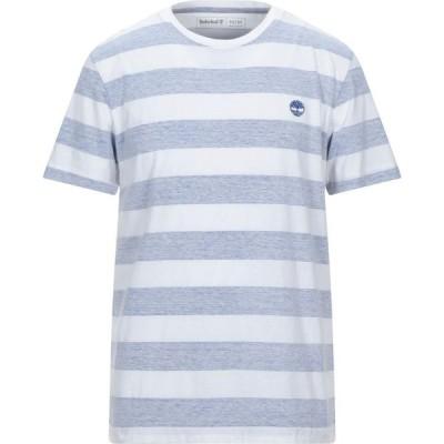 ティンバーランド TIMBERLAND メンズ Tシャツ トップス t-shirt Blue